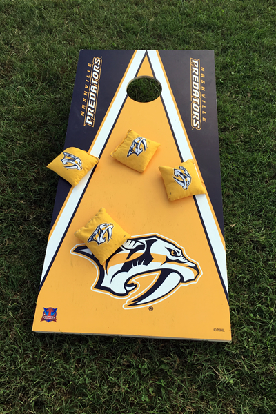 Corn Hole yard game rentals Nashville