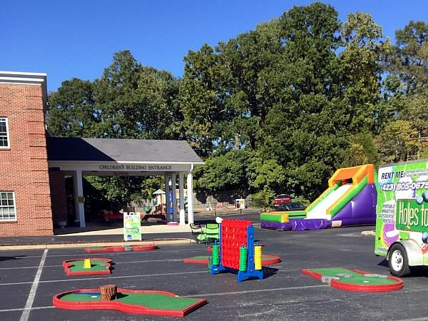 church event rentals Games To Go Nashville